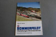 X342 SOMMERFELDT Train catalogue Ho HOm N 1994 40 pages 29,7*21 cm F ANG D