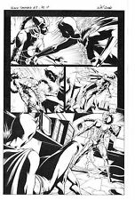 MARVEL BLACK PANTHER #8 PAGE 17 ORIGINAL ART by WILL CONRAD