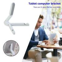 Mount Stand Folding Adjustable Desk Holder For Phone Galaxy Tablet iPad Air NEW
