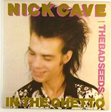 """7"""" SINGLE-NICK CAVE FEATURING THE BAD SEEDS-IN THE GHETTO-s1653"""
