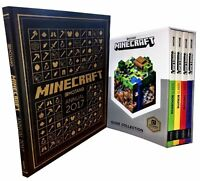 Minecraft Guide Book Mojang Collection Minecraft Annual 2017- 5 Books Set NEW
