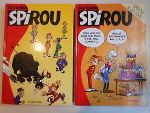 2 ALBUM SPIROU N°245 et 246 neuf année 1998  sac en cadeau  voir photos