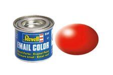 Revell 32332 Peinture Enamel 332 RAL3026 Rouge Voyant – Luminous Red Silk 14ml