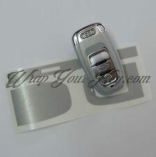 Envoltura de clave de Aluminio Cepillado Para Audi Smart A1 A3 A4 A5 A6 A8 TT Q3 5 Q7