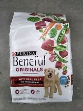 Purina Beneful Originals with Real Beef Adult Dog food 56 Oz. ( 3.5 Lbs. ) 02/21
