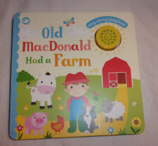Little Learners Sing Along Playbook Musical Old MacDonald Had Farm Toddler Book