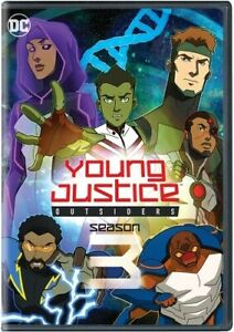 YOUNG JUSTICE OUTSIDERS: COMPLETE THIRD SEASON NEW DVD