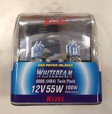 KOITO H3 WHITEBEAM 12V 55W (100W) TWIN PACK *** FREE SHIPPING ***