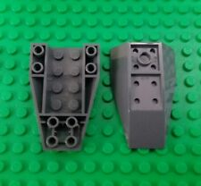 *NEW* Lego Grey 6x4 Stud Cockpit Front Chassis Spaceship Boat - 2 pieces