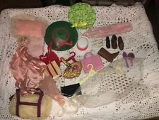 Lot vintage lot of clothing and accessories Barbie & more!