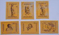 Stadspost Amsterdam - Serie Rembrandt Etsen 1970 ongetand