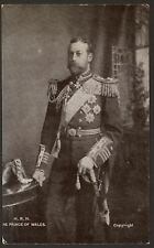 Royalty. His Royal Highness The Prince of Wales - 2 Copies 1906 Printed Postcard