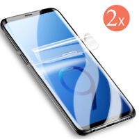 2x Soft PET 3D For Samsung Galaxy S8 / S8+ Display Schutz Folie Full Cover