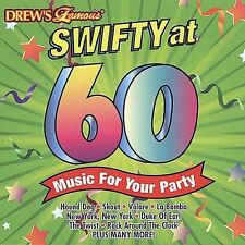 Drew's Famous Swifty at 60 - Music for Your Party by Drew's Famous (CD,