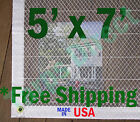 5' x 7' Clear Poly Tarp Room Divider Patio Porch Enclosure Fumigation Curtain
