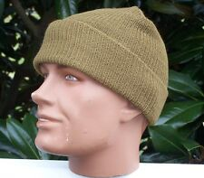 Coyote Hat Watch 3 Pack Cap Wool US Army Military Infantry USMC Made USA w P38
