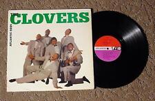 THE CLOVERS Self Titled RARE R&B 1961 Atlantic 8009 Pressing Serious Doo-wop EX!