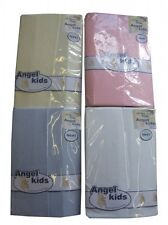 FITTED COT BOYS/GIRLS FITTED SHEETS 100% COTTON PACK OF 2 BABY NURSERY BEDDING