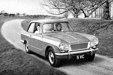 1964 Triumph Michelotti Vitesse Saloon Factory Photo J3314