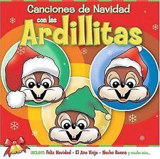 Canciones De Navidad Con Las Ardillitas CD
