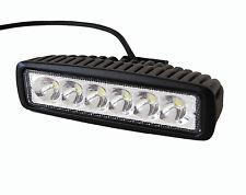 Slim 18w spot LED Work ATV 4X4 off road Light fog driving bar cree truck suv car