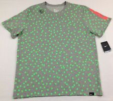 NWT Nike Men's Lebron Six Mix Athletic Cut Dri-Fit Cotton Poly Shirt sz L Large