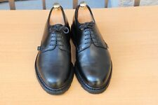 CHAUSSURES DERBY PARABOOT A LACETS CUIR NOIR 8,5 42,5 EXCELLENT ETAT MEN'S SHOES