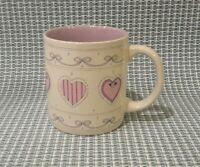 K.I.C. Purple Heart Coffee Mug Tea Cup  Valentine's Day Made in Korea