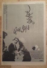 THOMPSON TWINS Quick Step 1983 Edición anuncio completo Páginas 39 x 28cm Mini