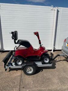 i-m4 Single Seater Golf buggy BESPOKE TRAILER