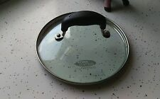 Kitchen Essentials Cephalon Pan 7 Inch Glass Replacement Lid With Plastic Handle