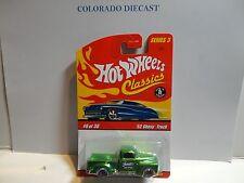 Hot Wheels Classics Series 3 #6 Green '52 Chevy Truck