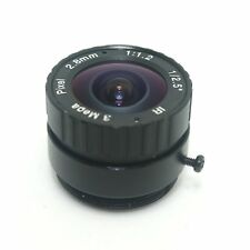 "2.8mm 1/2.5"" 3Megapixel CS Mount IR Fixed Lens for Box, Bullet CCTV HD IP Camera"