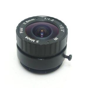 """2.8mm 1/2.5"""" 3Megapixel CS Mount IR Fixed Lens for Box, Bullet CCTV HD IP Camera"""