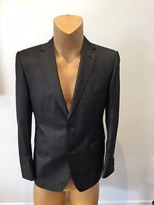 Mens ZZEGNA Modern Fit Grey Suit Size 50 C ...2 Button...
