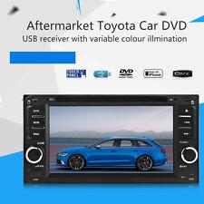 6.5Inch DVD Radio USB MP3 Player for Toyota Corolla Camry Kluger RAV4 Yaris Echo
