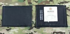 New listing Velocity Systems Ulv Iiia Side Soft Armor Ballistic Inserts Plate Carrier 5x7 .5