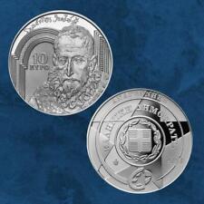 Griechenland - Renaissance - El Greco - Europastern - 10 Euro 2019 PP - Silber
