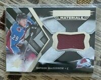 Nathan MacKinnon 2018-19 Upper Deck SPx Extravagant Materials Nice FREE SHIPPING