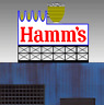 HAMM'S BEER ANIMATED ROOFTOP SIGN FOR O-SCALE OR LARGE HO-BLINKS,MORE! GREAT!
