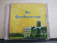 DIE TANNHAUSERSAGE EWALD TURBA A.SPITZENBERG M.WILLER M.JUNGK H.KOHLER CD promo