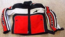 Alpinestars Textile Motorcycle Motorbike Jacket M Used Bike Ride Armor Moto GP