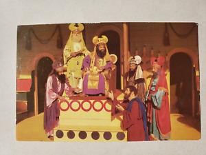 Vintage Postcard - Black Hills Passion Play Judas Pleading  - S. Crocker