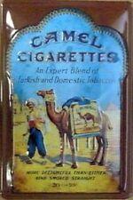 More details for camel cigarettes embossed steel sign  300mm x 200mm  (hi)