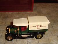 MATCHBOX - MODELS OF YESTERYEAR - 1918 CROSSLEY TRUCK - WARING'S - Y-13 - BOXED