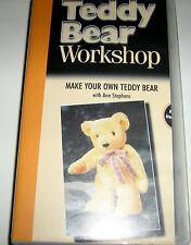 TEDDY Bear Workshop: Crea la tua Teddy Bear VHS Video e modello
