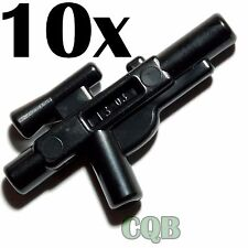 NEW LEGO - Weapon -  Star Wars - 10x Black Medium Blaster - GENUINE lego