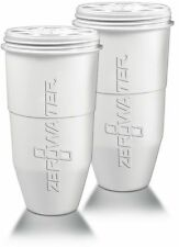 Zero Water Replacement Water Filter Cartridge Refill 5 Stage Filtration - 2 Pack