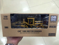 New Packing - Caterpillar Cat 140H Motor Grader 1/50 Scale DieCast 85030 By DM