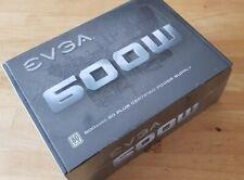 EVGA 600W 80 PLUS CERTIFIED PSU POWER SUPPLY.